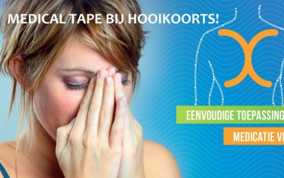 Hooikoorts? Medical Tape kan helpen!