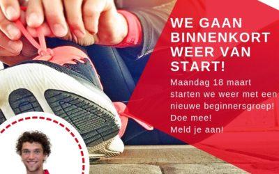 Binnenkort start hardloopcursus voor beginners!