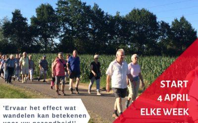 Wandelen met de Gezond Veluwe Challenge