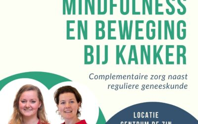 Lezing over Mindfulness en Beweging bij kanker